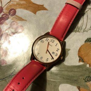 Pink & Gold Watch